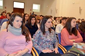Alumnos participantes en el ciclo de seminarios