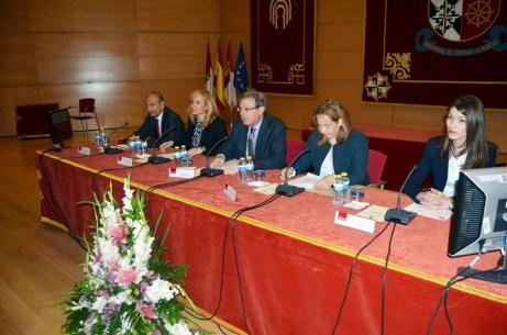 Juan Ramón de Páramo, Rosario Roncero, Miguel Ángel Collado, Jacinta Monroy y Dolores Utrilla
