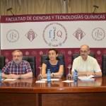 De izqda. a dcha.: Lourdes Rodríguez, Ángel Ríos, Beatriz Cabañas, Antonio Antiñolo y Fernando Carrillo