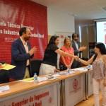 Entrega de diplomas de la I edición del Máster Dual en Tecnología Mecánica