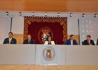 La vicerrectora de Relaciones Internacionales presidió la inauguración