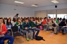 Un centenar de estudiantes participaron en la jornada