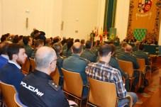 Estudiantes de Derecho comparten la jornada con miembros de los cuerpos y fuerzas de seguridad