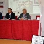 De izqda. a dcha.: Matías Barchino, Miguel Ángel Collado y Félix Pillet