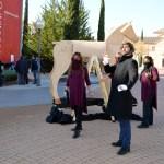 El grupo de teatro Malaestirpe de la UCLM representa 'Clavileño'