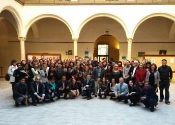 Foto de familia de los participantes en los posgrados