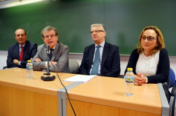Luis Huete, Miguel Ángel Collado, Luis María Díez-Picazo y María Jesús Alarcó