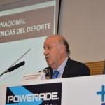 Vicente del Bosque durante su intervención