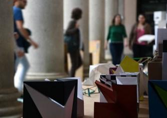 Exposición de trabajos de los alumnos