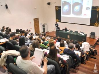 Asistentes al taller de Iván Cerdeño y conferencias previas