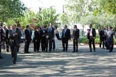 Llegada de las autoridades a la UCLM