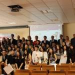 Imagen de grupo de los alumnos graduados