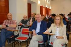 El curso cuenta con 30 alumnos. En primer plano, los directores del curso Francisco Alcaín y Julia Vaamonde (extremos) y José Moncho (centro).