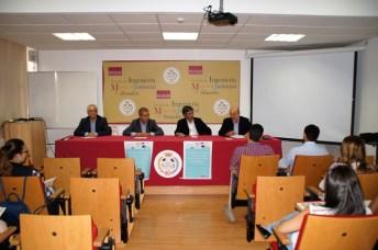 De izqda. a dcha.: Luis Mansilla, Siro Ramiro, Francisco Mata y José Luis Cabezas