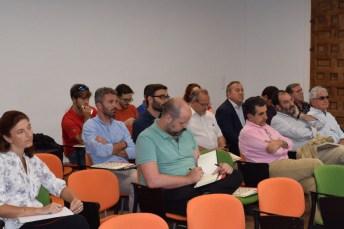 Alumnos asistentes a la inauguración del curso