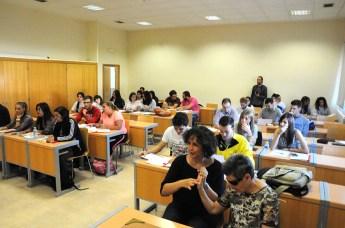 """Alumnos del curso """"Inclusividad: aportaciones desde la Educación Física y la Psicopedagogía"""""""
