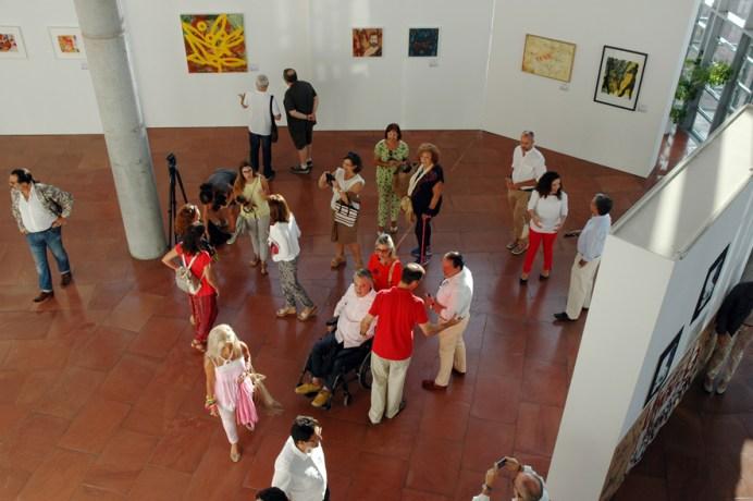 En la muestra participan un total de 16 artistas