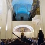 Nave central de San Pedro Mártir durante la celebración del concierto