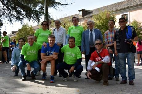 El rector participó en la salida del Campus a Través en Toledo