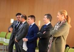 Miembros del equipo de Gobierno de la UCLM presentes