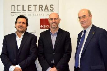 Desde la izquierda, Marías Barchino, Pedro Ángel Jiménez y Felipe Pedraza