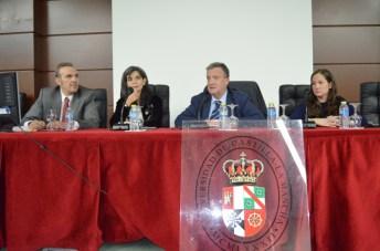 De izda. a dcha.: Tomás Vidal, Ana María Carmona, Juan José Rubio y María Ruiz