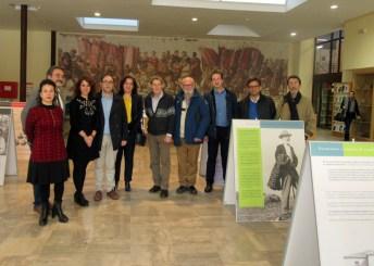 Visita institucional a la exposición