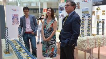 Exposición de las maquetas del III Concurso de Diseño de Puentes con K'Nex