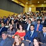 El rector presidió el acto de graduación