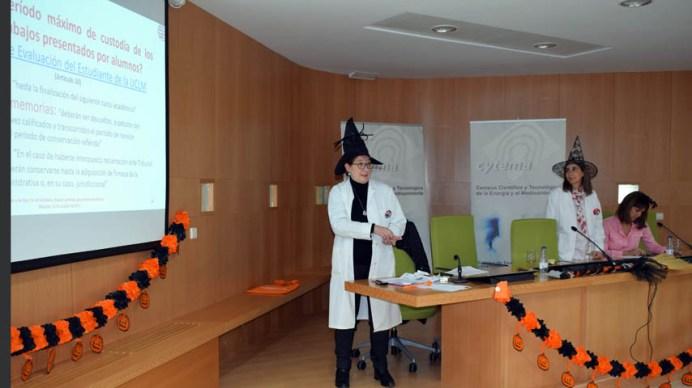 Celebración del taller ambientado Halloween