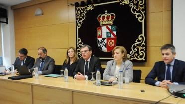 Reunión de la Comisión de Estrategia de la UCLM en el Campus de Cuenca