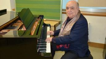 Lorenzo Palomo, durante su visita a la Facultad de Educación de Ciudad Real.