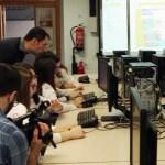 El equipo manchego trabajando en el desarrollo de la aplicación