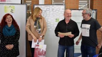 Premiados, jurado y representantes académicos