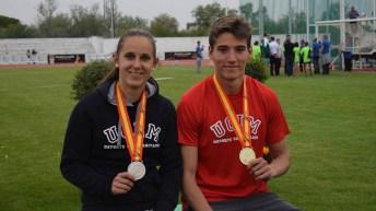Un oro, una plata y dos bronces para la UCLM