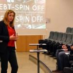 La Vicerrectora de Transferencia e Innovación, Ángela González