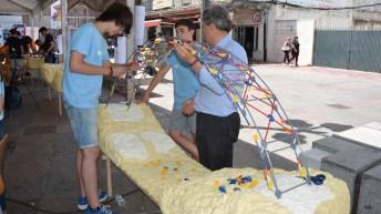 Final del IV Concurso de Diseño de Puentes con K'Nex. © Gabinete de Comunicación UCLM