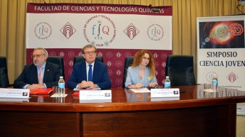 El rector de la UCLM inaugura el XII Simposio de Ciencia Joven