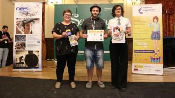 Entrega de premios del concurso 'Combate de lápices'.