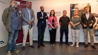 Inauguración de la exposición 'Julián Pacheco: Diálogos'. © Alex Basha