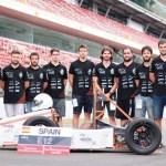 TERteam y su prototipo en el Circuit de Barcelona-Catalunya   © UCLM
