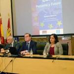 Stefano Sannino durante su intervención en el Campus de Toledo.   © UCLM