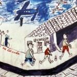 El curso se celebra en la Facultad de Letras, que también acoge una exposición de dibujos realizados por escolares de las colonias republicanas   © Gabinete de Comunicación UCLM