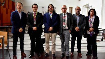 Autoridades participantes en la inauguración. © Gabinete de Comunicación UCLM