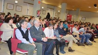 La Escuela de Agrónomos de Ciudad Real celebra una ponencia sobre el agua. © Gabinete de Comunicación UCLM