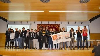 El IES Blas de Prado disputará la final en Tenerife a finales de marzo. © UCLM