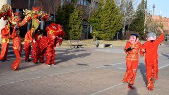Desfile de dragón y leones © Gabinete de Comunicación UCLM