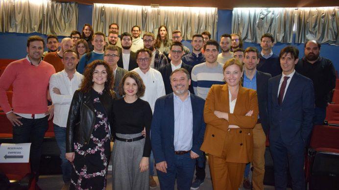 Foto de grupo de los participantes en el acto © Gabinete de Comunicación UCLM