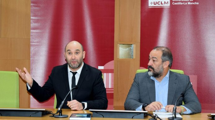 Acto de presentación © Gabinete de Comunicación UCLM