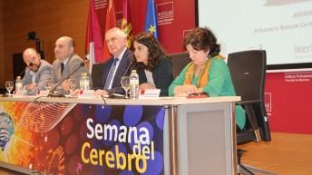 Inauguración de la IX Semana del Cerebro de la Facultad de Medicina de Ciudad Real. © Gabinete de Comunicación UCLM